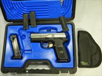 FNH FNX-9, 4'' Semi-Auto 9mm With Holster, Two 17-Round Magazines, Like New!