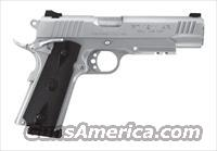 Taurus PT1911-AR, .45 ACP, Stainless, With Accessory Rail