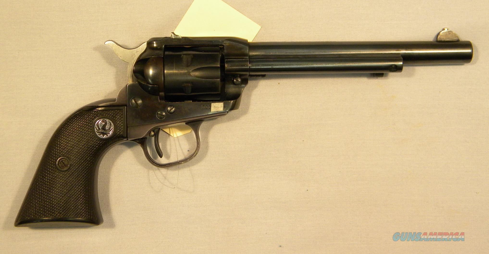 Ruger 3-Screw Single-Six Magnum In  22LR