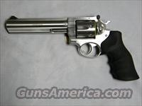 "Ruger GP100, 6"" Stainless D/A Revolver"