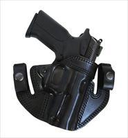 "IWB / OWB Leather Gun Holster  ""L"" Frame revolver 4.0"""