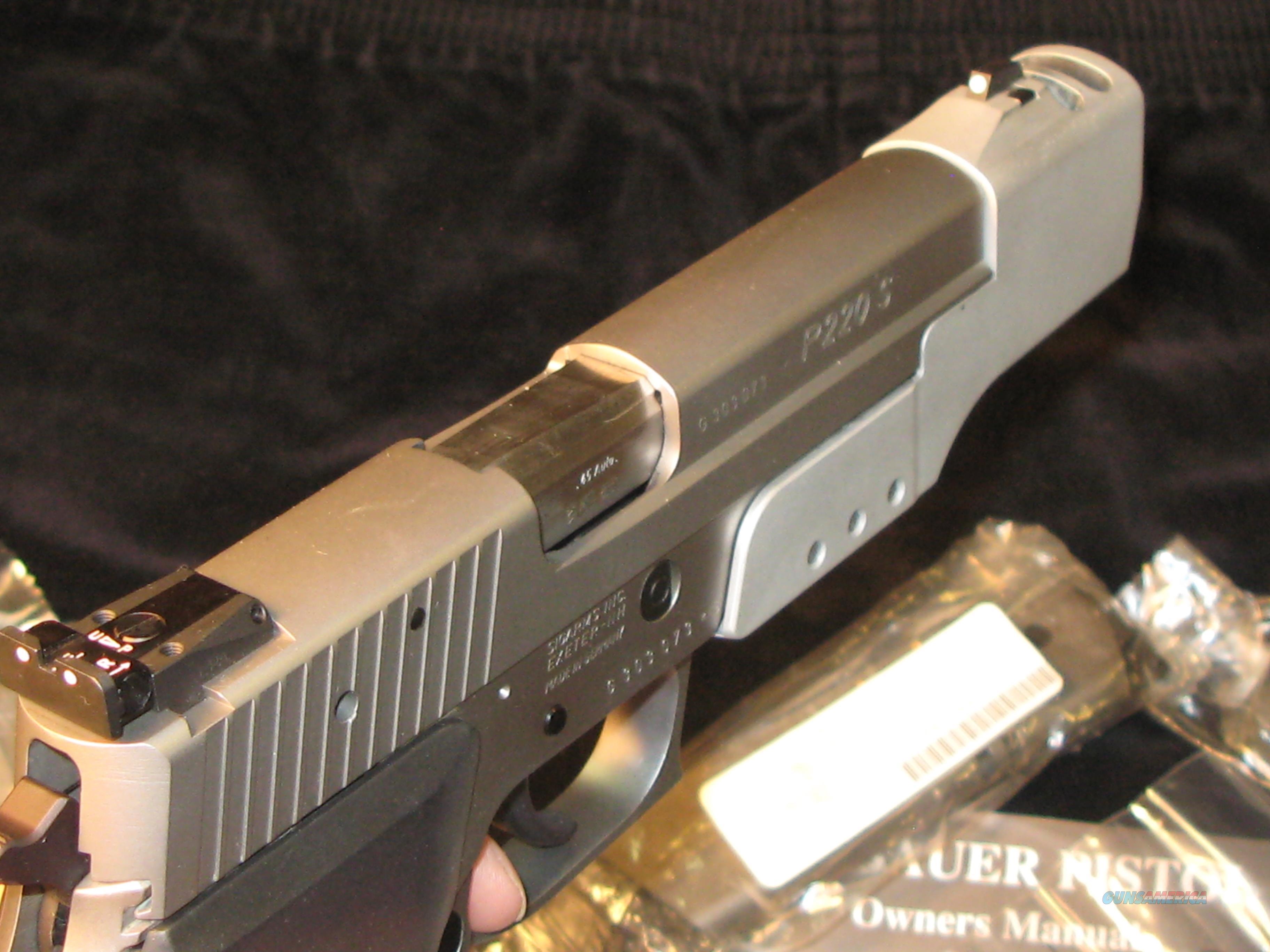 P220 Sport Sig Sauer Target Pistol 45acp Nib For Sale