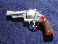 SMITH AND WESSON NICKEL 44 MAGNUM REVOLVER NIB