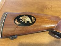 Collector .375 Weatherby Magnum, FN Mauser, Inlays, Fresh Refinish