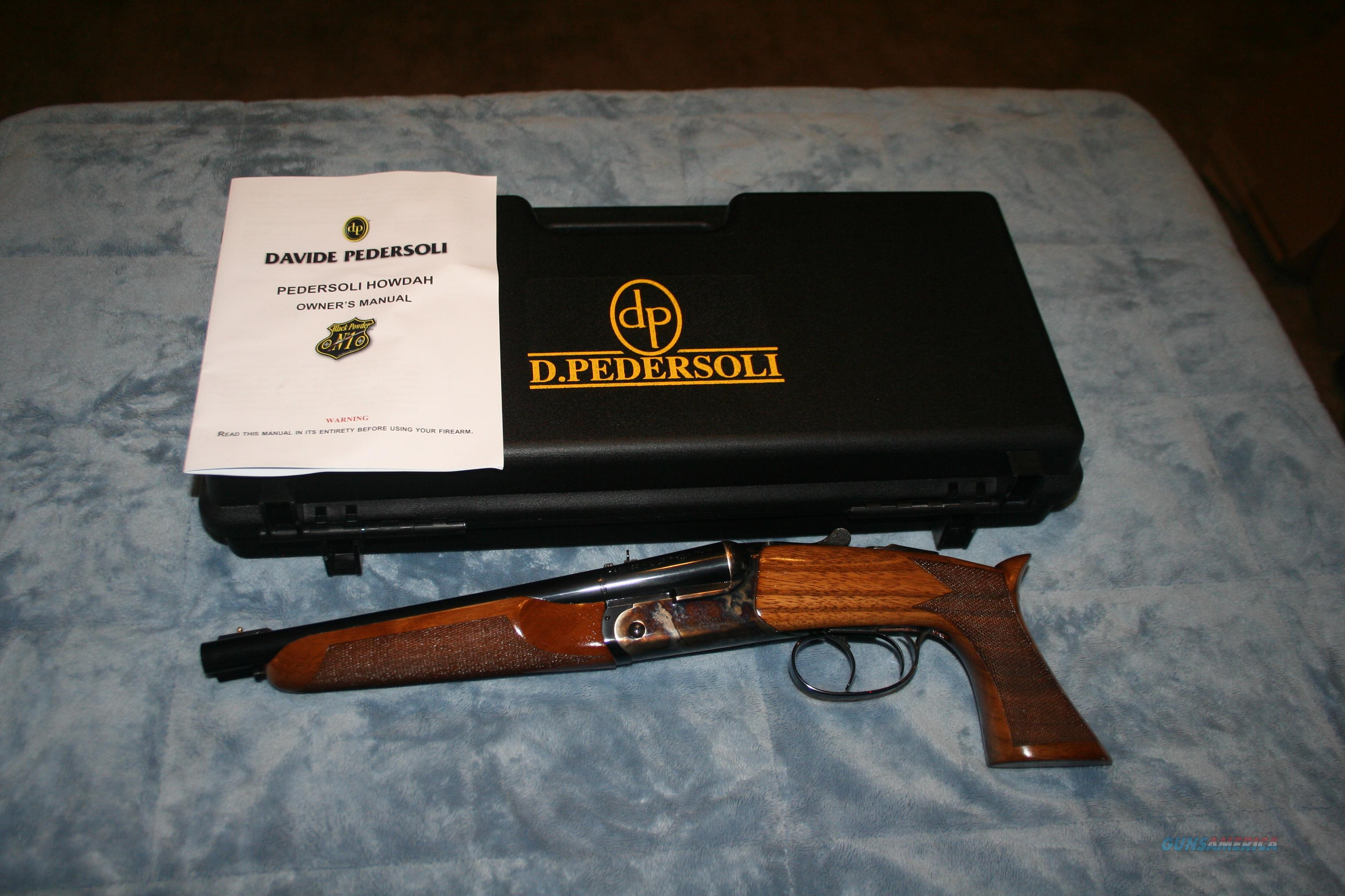Pedersoli Howdah 45Lc/ 410 NOT PERCUSSION OR BLACKPOWDER, rifled barrels
