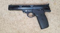 "SMITH & WESSON 22A-1 22LR. TARGET PISTOL, 5.5""BARREL, PLASTIC GRIP, RED DOT SIGHT"