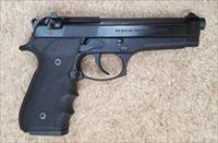 "MY BERETTA 92FS 9mm Luger 4.9"" BARREL, 10 RD.MAGAZINE, HOGUE GRIP, SA/DA"
