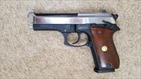 "TAURUS PT92C (BERETTA CLONE) COMPACT, TWO TONE, 9mm Luger, 4.7"" BARREL, WOOD GRIP, SA/DA"