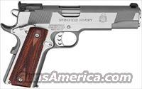 "Springfield  PI9132 1911 LOADED TARGET .45ACP AS 5"" STAINLESS STEEL WOOD"