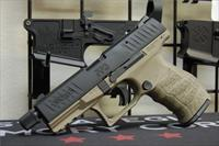 Walther PPQ M2 Tactical Threaded Barrel FDE 12rd