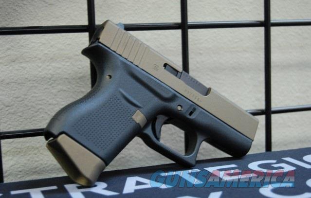 Glock 43 9mm X-Werks Burnt Bronze Slide & Parts