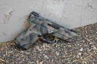 X-Werks Glock 23 Gen 4 Custom EVL Camo w/Night Sights