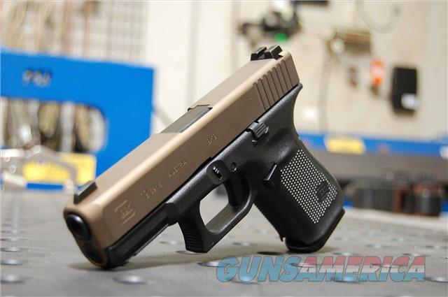 Glock 19 Gen 5 X-Werks Burnt Bronze Slide G5 9 FS