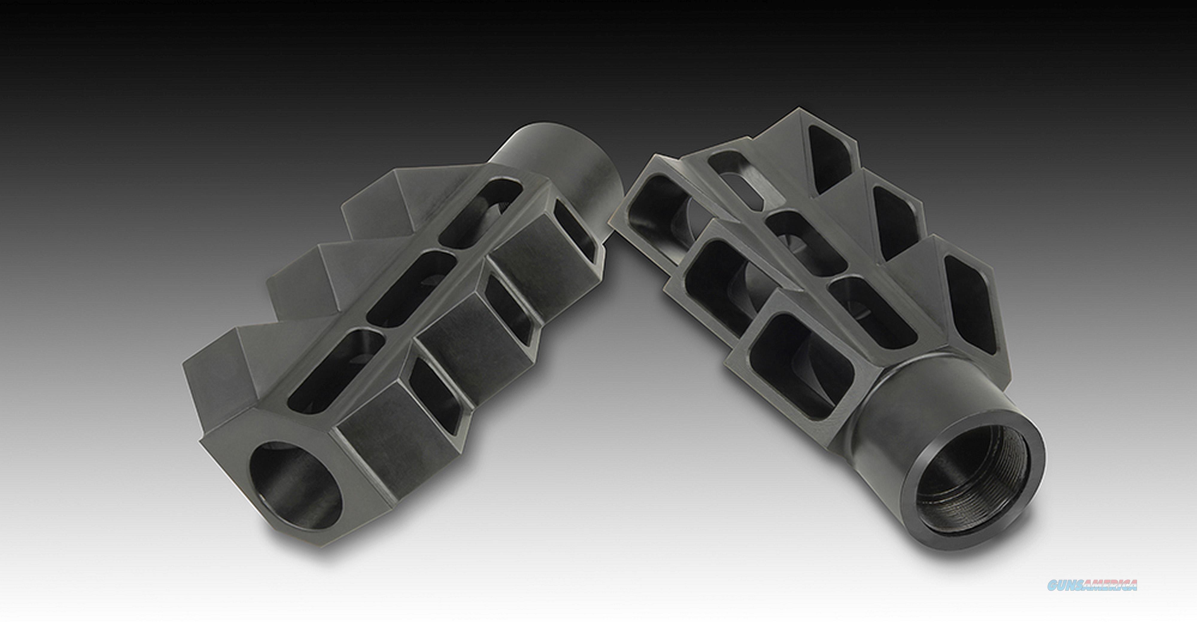 V6 Muzzle Brake for the Saiga 12, KSG, Origin 12, VEPR 12, DDI 12, FURY,  XTR-12