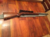 Winchester Model 43 in .218 Bee