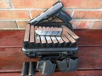 "Springfield XDM 40 5.25"" Stainless 2 Tone, Like New, (11) 16 Rd Mags, Holster, Double Mag Pouch, Fiber Optic, Ambi, FREE LAYAWAY!!"