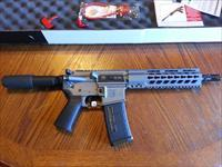"Diamondback AR15 AR 15 DB 15 Pistol 5.56/223 NIB 10.5"" TACTICAL GREY 30 Rd Muzzle Brake FREE LAYAWAY"