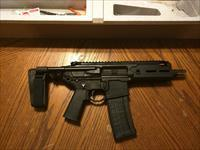 "Sig Sauer AR 15 Pistol MCX Rattler 300 AAC Blackout Pistol 5.5"" PDW PSB 2 Settings Piston  Driven Suppressor Ready NIB Hard to Get FREE LAYAWAY The Ultimate Close Quarters Battle Weapon NEW MODEL!!!"