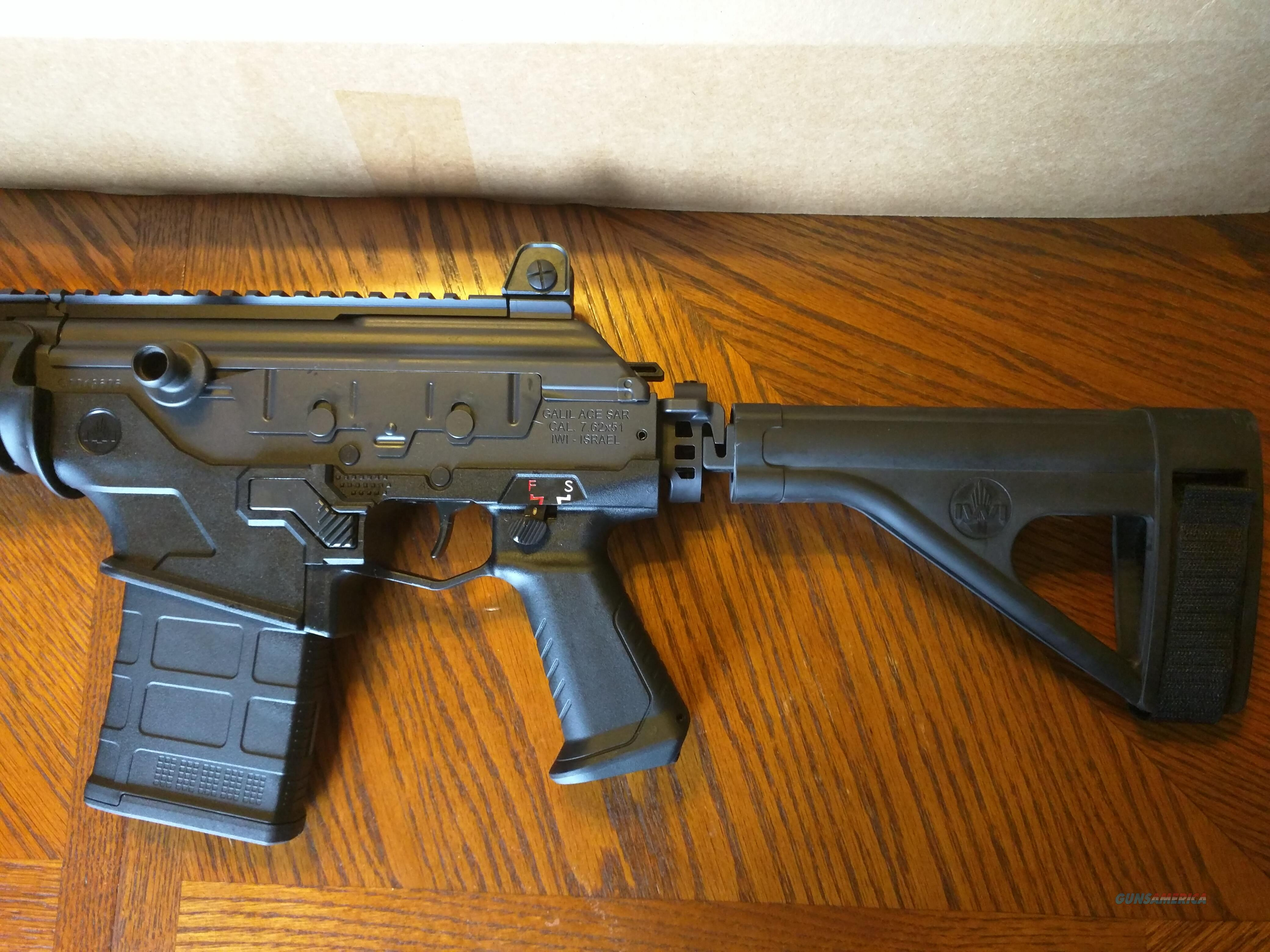IWI Galil Ace Pistol 7 62x51 Nato 308 NIB 11 8