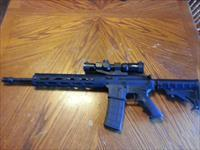 "Bushmaster AR15 AR 15 Radical Firearms Upper 16"" 5.56/223 1.5-4x30 Aim Sports Recon Scope 30 rd 12"" Alum Handguard"