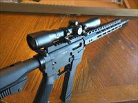 Freedom Ordnance AR15 AR 15 AR 9mm 4x32 Scope and Rings Combo, BILLET ALUM. UPPER and LOWER NIB 31 Round, 16 in. takes all Glock 9mm magazines Alum.Handguard with Rail and M-Lok SALE!!!! Hard to Beat This Glock 9mm AR 15 Combo FREE LAYAWAY