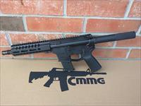"CMMG AR15 AR 15 MK57 Five-Seven GUARD AR15 Pistol 5.7x28 FN Mags 8"" NEW MODEL!! BLACK 20 Rd Takes FN 5.7x28 Pistol Mags RADIAL DELAYED BLOWBACK Billet Aluminum, NIB FREE LAYAWAY!!"