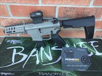 "CMMG AR15 AR 15 MK57 BANSHEE 5"" Five-Seven AR15 Pistol 5.7x28 SIG SAUER Red Dot COMBO! FN Mags NEW MODEL!! GUN METAL GREY 20 Rd Takes FN 5.7x28 Pistol Mags RADIAL DELAYED BLOWBACK Billet Aluminum, NIB FREE LAYAWAY!!"