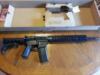 "Troy Defense AR15, CQB, .223/5.56, Carbine, 15"" Key Mod Handguard, Flattop Rail, Optics ready, NIB"