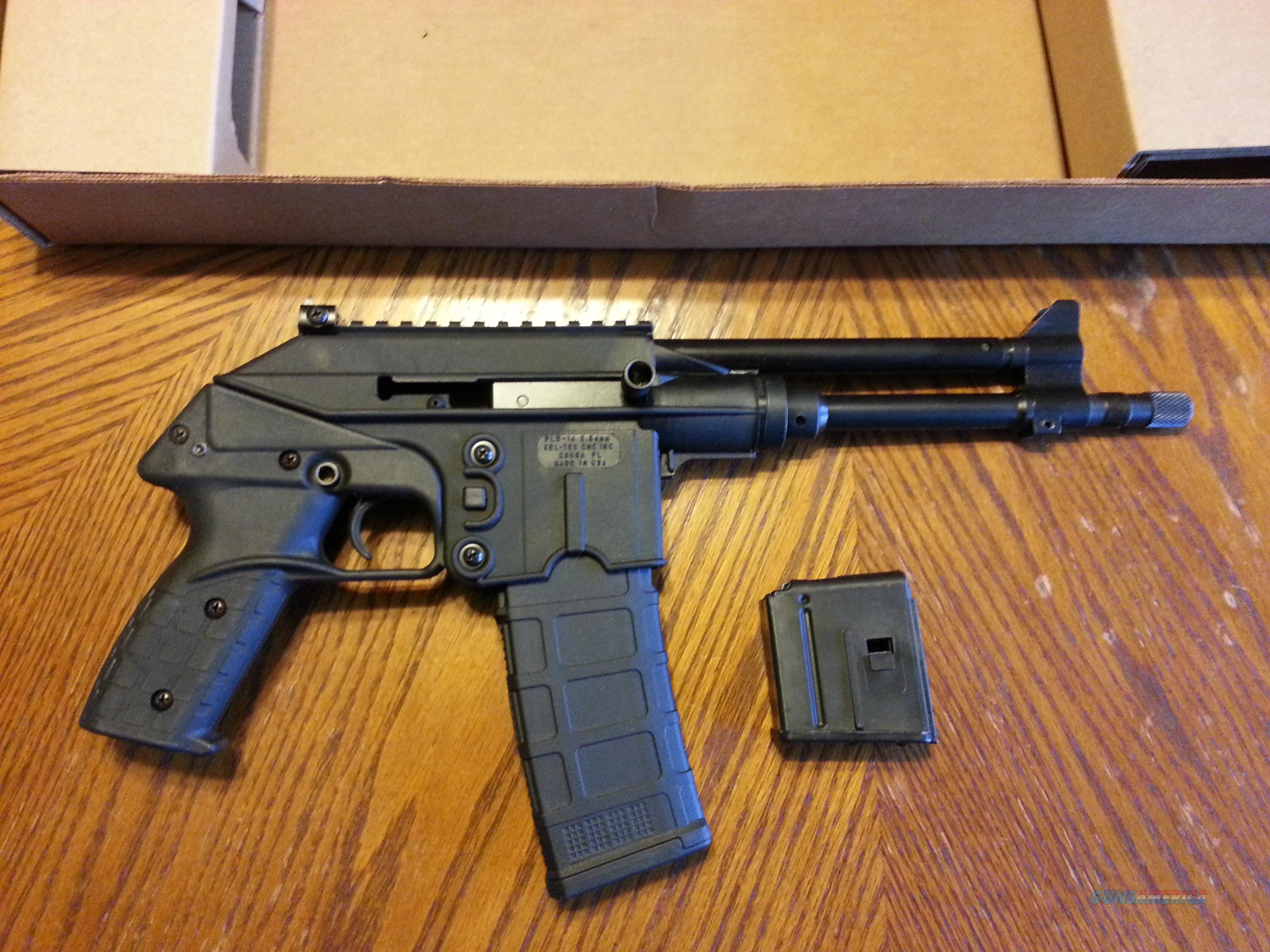 Kel-Tec PLR 16, AR 15 Pistol, 30 Round, 5 56/ 223, Lightweight, 9