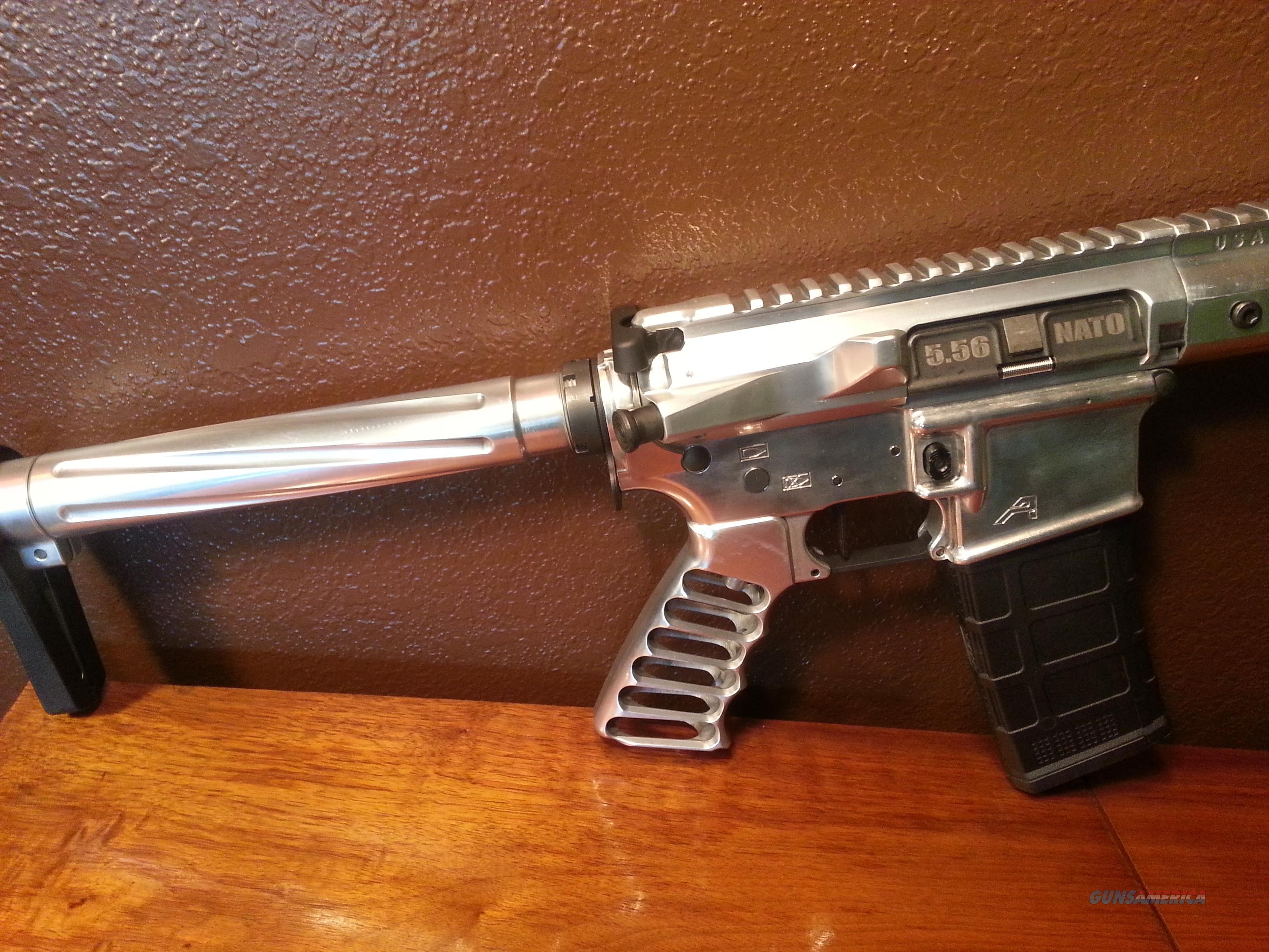 AR15 Aero Precision 5 56/223 Custom AR 15 All Polished Alum  Timney  Trigger, Nickle Boron BCG 16