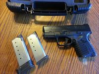 "Springfield XDS 45, NIB, 3.3"" 2 Mags, Fiber Optic Front Sight"