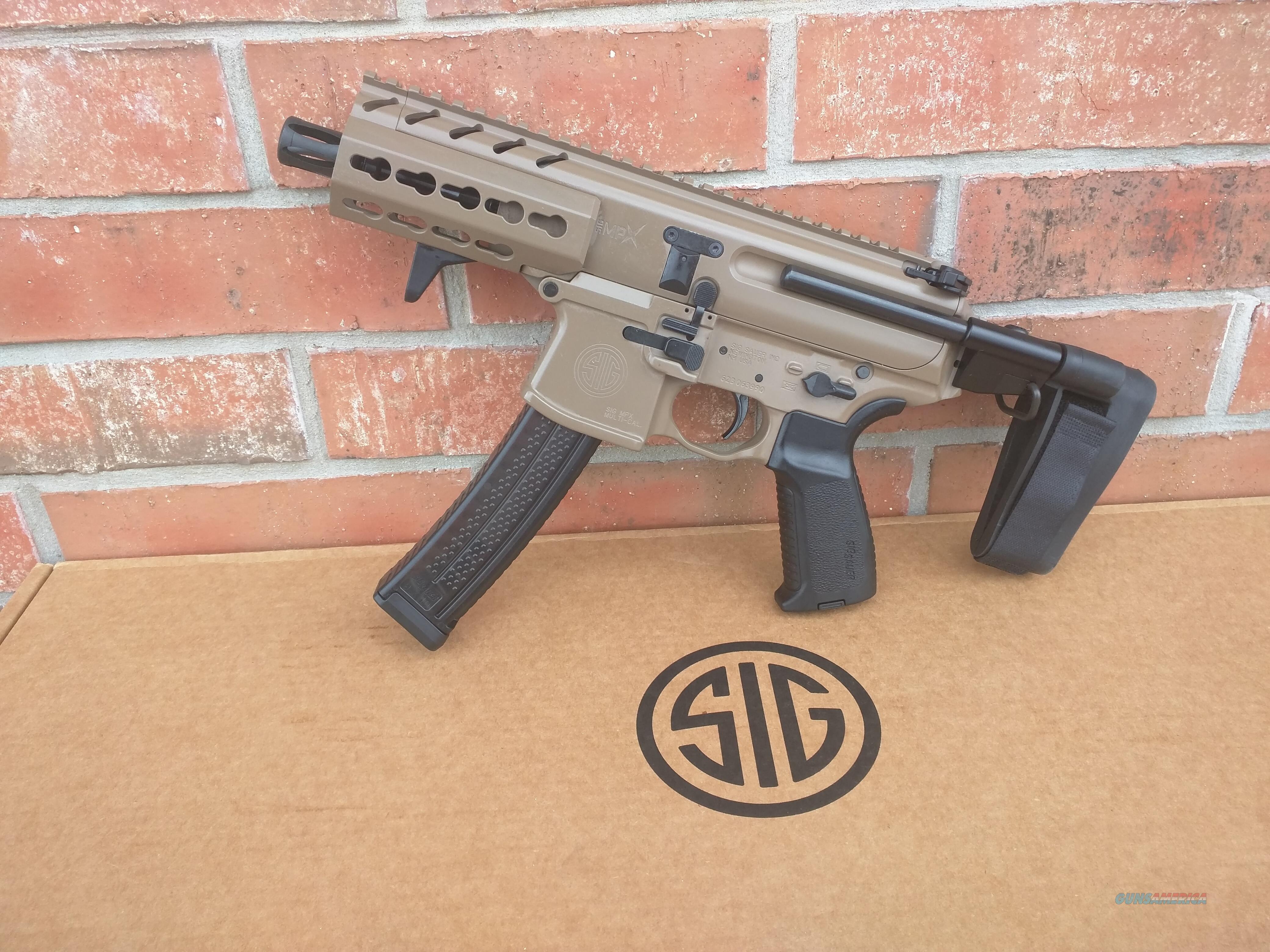 Sig Sauer MPX 9mm Gen 2 4 5