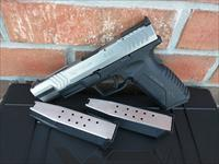 "Springfield XDM 45 ACP 5.25"" Stainless 2 Tone, Used Like New, (3) 13 Rd Mags, Holster, Double Mag Pouch, Mag Loader, Fiber Optic, Ambi, FREE LAYAWAY!!"