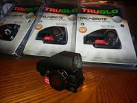 Tru-Glo Red Dot Sight, Lightweight, Compact, 4 Reticle Choice, 2.5 & 5 MOA Dot, 2.5 & 5 MOA Center Dot