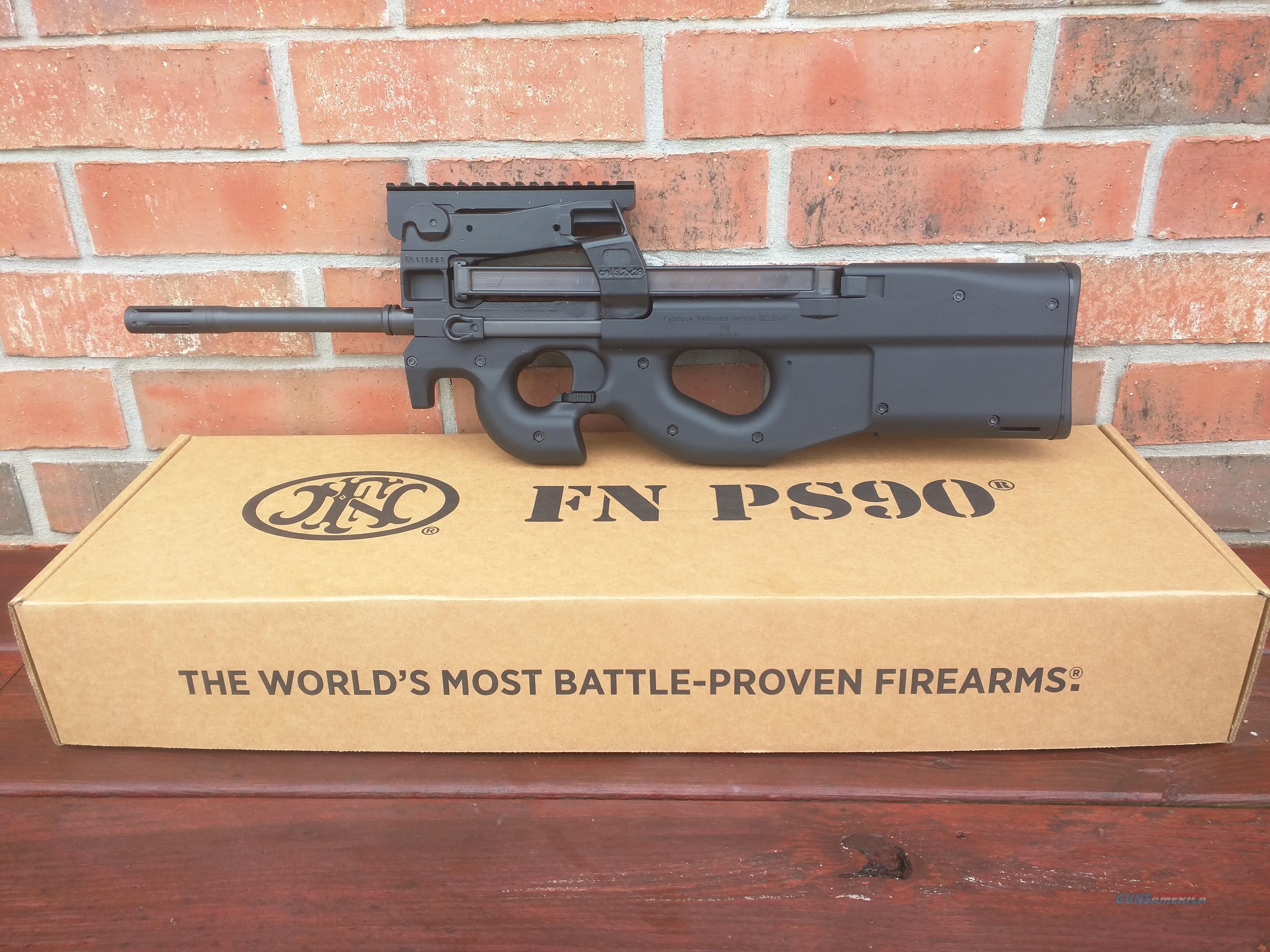 Ps90 For Sale >> Fn Fnh Ps90 Ps 90 5 7x28 Bullpup 16 Hard To Get Nib Lightweight Ambi Controls Great Trigger Rail For Optics 30rd Mag Free Layaway