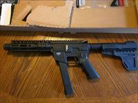 Freedom Ordnance AR15 AR15 pistol 9mm takes all Glock magazines, BILLET ALUM. UPPER and LOWER ,1, 31 round stick NIB 8 inch SALE!!!!!,