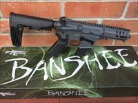 "CMMG MK57 BANSHEE Five-Seven GUARD AR 15 AR15 5.7x28 FN Mags 5"" NEW MODEL!! SNIPER GREY 20 Rd Takes FN 5.7x28 Pistol Mags RADIAL DELAYED BLOWBACK Billet Aluminum, TAIL HOOK Adj Brace NIB FREE LAYAWAY"