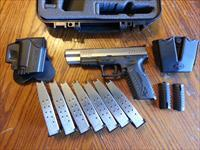 "Springfield Armory XDM 45 Competition 5.25"" 2 tone, SALE!! NIB, XTRA GEAR, 7 Magazines 13 Rd, Holster, Mag Pouch"