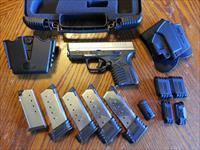 "Springfield Armory XDS 45 3.3"" 2 Tone, Concealed Carry Special, XTRA GEAR, 5 Magazines, Holster, Mag Pouch, NIB"