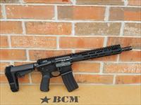 "BCM BRAVO COMPANY MFG AR15 AR 15 PISTOL RECCE-11 MCMR 5.56 NATO 11.5"" Barrel M-LOK SB Tactical SBA3 Adj Brace, New In Box, BATTLE READY!!"