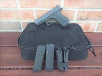 Glock 23 Gen 4, 40 S&W (3) 13 rd mags, 3 Dot Night Sights Used Good Condition Soft Case