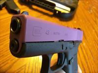 Glock 43 Wild Purple 9mm Limited Edition NIB 2  6rd Mags Great Concealed Carry, Super Small and Lightweight