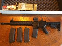 "Radical Firearms AR15 AR 15 5.56/223 16"" NIB SIG Romeo 5 Red Dot MBUS Flip Up Sites (4) 30 rd Mags 12"" Alum Handguard Flattop Rail Lots of XTRAS FREE LAYAWAY"