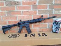 """FN FNH AR15 AR 15 FN15 16"""" Patrol Carbine 223/5.56 Nato Hammer Forged CHROME LINED Barrel 2-30 Rd Mags, M-Lok Handguard Iron Sights New In Box , COMBAT READY!!"""