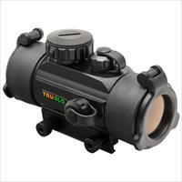 TRUGLO AR15 AR 15 Tactical RED DOT SIGHT 1X30MM 5-MOA W/MOUNT BLACK MATTE, New In Package