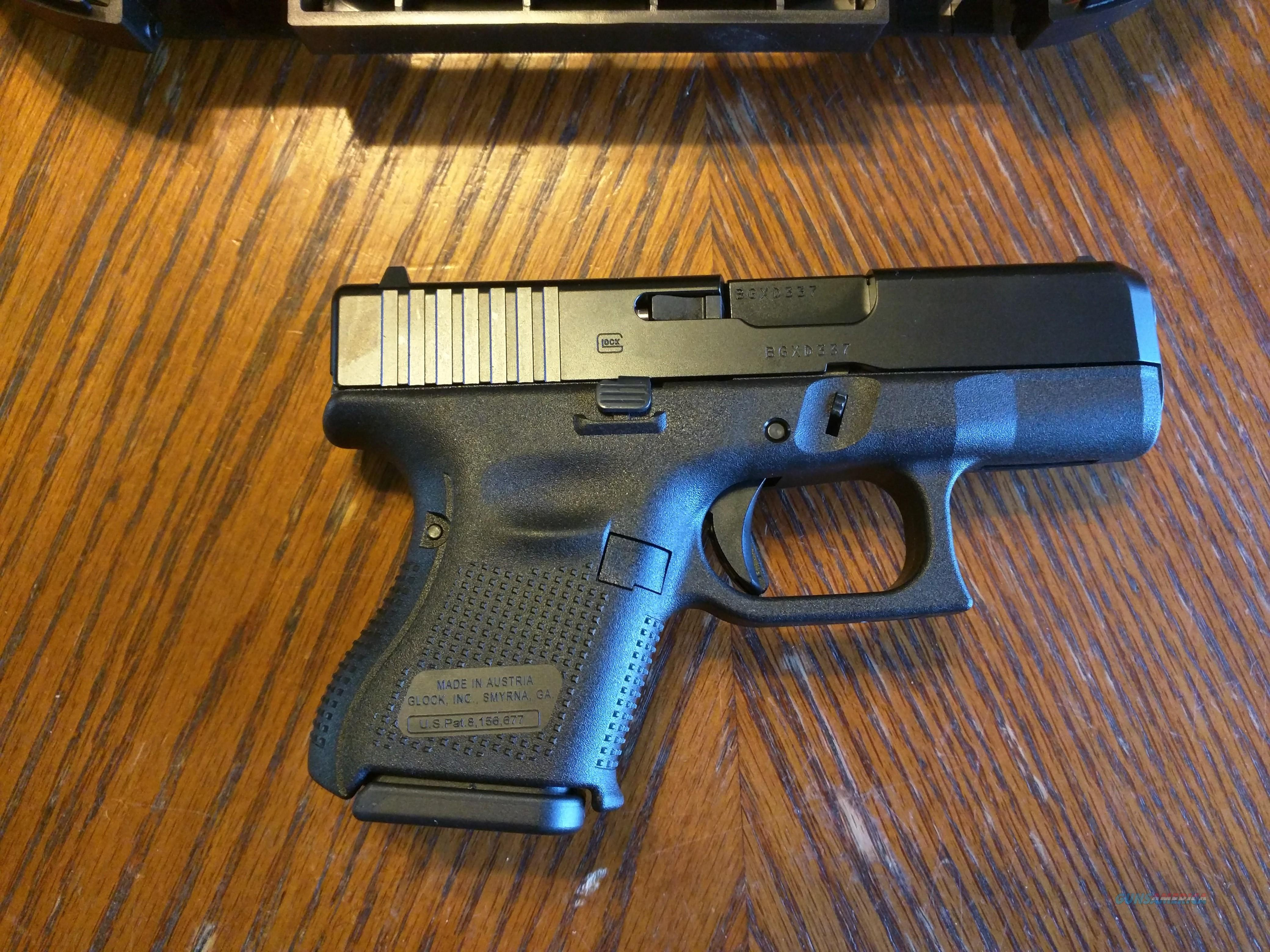 Glock 26 Gen 5 9mm Baby Glock New Model Nib C For Sale
