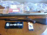 "Savage Model 14 American Classic 14 AC 308 Win 22""  4 Rd Detachable Mag Accu Trigger NIB with Blem on the Wanut Stock Cant Beat this Price"