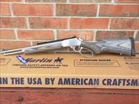 Marlin 1894CSBL Lever action, 357 Mag/ 38 Special, Stainless/Black Gray, 16.5