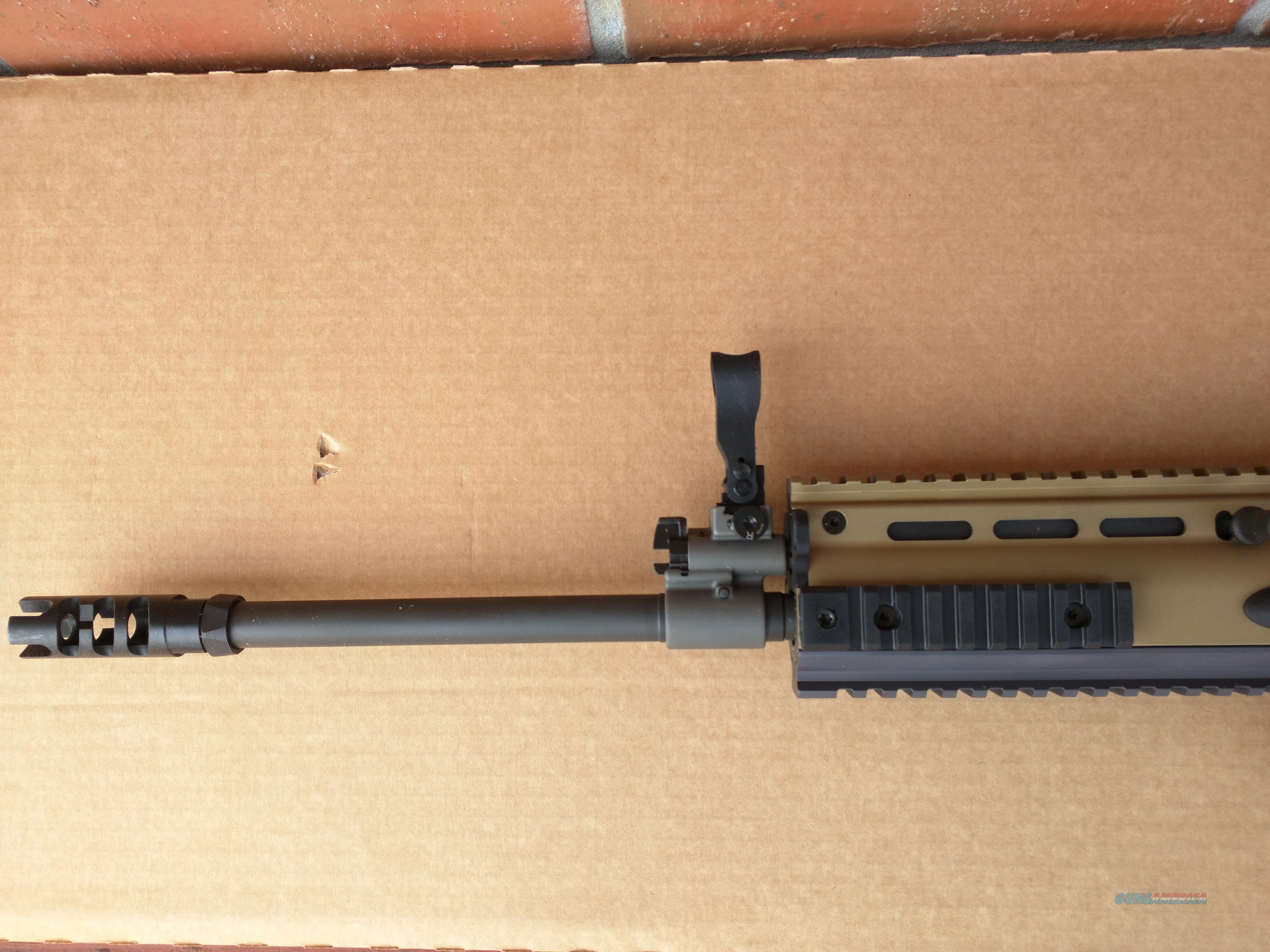 FNH FN Scar 17s 7 62x51 Nato 308 FDE, 1-20 rd mag and 1-10 rd mag 16