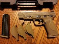 "Smith & Wesson M&P 9, M2.0, 2.0, 9mm, 5"" FDE, NIB, Striker Fired, 17 Rds."